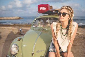 omaha chiropractor image girl on beach